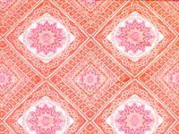 Beachcomber in Papaya from Old World Weavers via Stark #cotton #silk #fabric