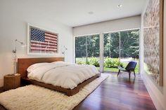 Modern Master Bedroom Interior Design Master Bedroom Interior, Modern Master Bedroom, Home Bedroom, Bedroom Ideas, Bedroom Decor, Bedroom Simple, Bedroom Designs, American Bedroom, Couple Room