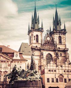 Vintage Prague  - Czech Republic  by ScottKrycia