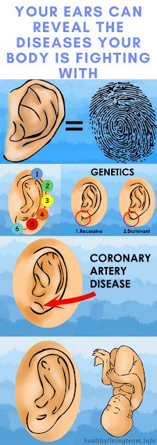 YOUR EARS CAN REVEAL THE DISEASES YOUR BODY IS FIGHTING WITH