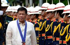 Rodrigo Duterte the President of the Philippines gives open warning to President of United States that he has no right to ask questions to Filipino President further he said that Barack Obama Son of a b****, I will swear at you. Rodrigo Duterte, Women's Human Rights, Kangaroo Court, President Of The Philippines, Great Books To Read, Blue Streaks, Navy Ships, Dio, Best Selling Books
