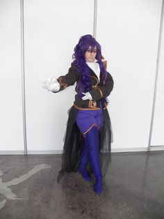Character: Kamui Gakupo  From: Vocaloid2    Cosplayer: Rydia