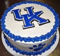 University of Kentucky Cake by Janie Waltz