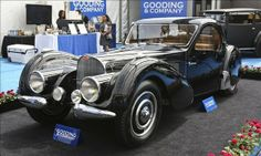 1937 Bugatti Type 57SC   Selling price: $8,745,000 Auction house: Gooding & Co. | Auction location: Monterey, Calif.