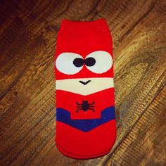 2017 New Summer High Quality Super Hero Cartoon Man Casual Ankle Cotton Socks Women Men Boat Sock Slippers Happy Art Funny Socks