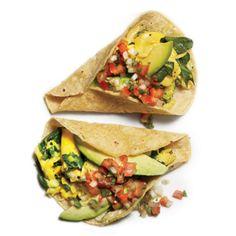 Green Breakfast Burrito: Organic Gardening