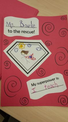 "Continuing our theme of superhero activities, we have done a few literacy based centers using ""You can be an Everyday Superhero"". This post contains some great literacy centers! Superhero Kindergarten, Superhero Writing, Preschool Literacy, Kindergarten Writing, Kindergarten Activities, Literacy Centers, Preschool Crafts, Superhero Rules, Eyfs Activities"