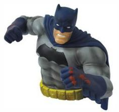 SDCC 2016 THE DARK KNIGHT RETURNS: BATMAN PREVIEWS EXCLUSIVE BUST BANK (BLOODY VERSION)