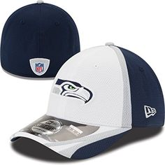 buy online a5ad6 2cb25 Seattle Seahawks 39THIRTY Stretch Fit Cap, M L New Era https