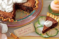 Chocolate Truffle Pie with Amaretto Cream - Start with refrigerated pie crusts to make prep for this pie a breeze.