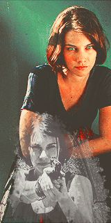 Maggie - The Walking Dead Fan Art - (GIF IMAGE - Click to view Animation)