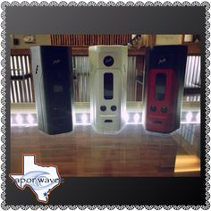 Reuleaux rx200 box mods back in stock!!! Come in today and grab yours!!! #breatheinvapeout #boxmods #setup