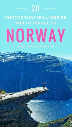 Norway is one of the most breathtakingly beautiful countries in the world and these photos prove it!  So amazing!