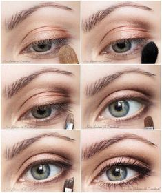 """""""Natural Glow"""" by MissHeledore History of eye makeup """"Eye care"""", quite simply, """"eye make-up"""" has Natural Eyes, Natural Eye Makeup, Eye Makeup Tips, Natural Glow, Natural Beauty, Dramatic Wedding Makeup, Bridal Eye Makeup, Pastell Make-up, Make Up Glow"""