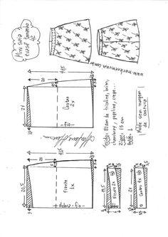 Fashion Sewing, Diy Fashion, Sewing Paterns, Modern Sewing Projects, Costura Fashion, Sewing Blouses, Corset Pattern, Dress Making Patterns, Fashion Design Drawings