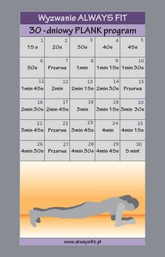 30 dniowe plank wyzwanie Natural Sleep Remedies, Health Trends, Fitness Planner, Yoga Routine, Wellness Tips, Workout Challenge, Physical Fitness, Excercise, Workout Programs