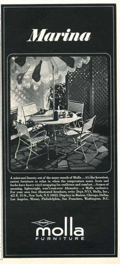 Molla Outdoor Furniture (1966)
