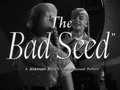 """""""The Bad Seed"""" (1956) - Opening Title - Rhoda Penmark (Patty McCormack)"""