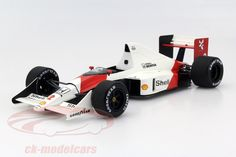 McLaren MP4/5, World Champion F1 1989 GP Monaco 1989, No.2, Alain Prost, Honda Malboro McLaren Team. True Scale, 1/18, Limited Edition 500 pcs. Price (2016): 220 EUR.