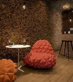 projeto restaurante twister 01 Projeto de arquitetura restaurante Twister