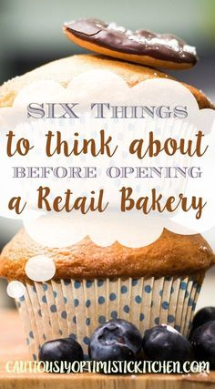 Things to Think About Before Opening a Retail Bakery Things to consider before opening a storefront. How to open a bakery. Things to consider before opening a storefront. How to open a bakery. Bakery Business Plan, Baking Business, Cake Business, Business Ideas, Catering Business, Business Logo, Business Planner, Business Inspiration, Bakery Store