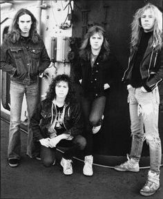 Cliff, Kirk, Lars, and James