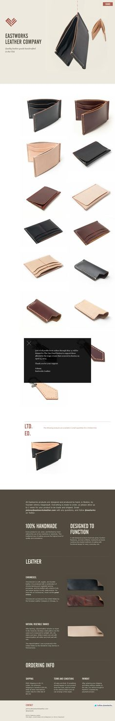 #web #design #leather
