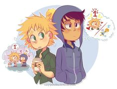 Read Bunny - 1 from the story South Park (Imágenes yaoi) by S_M_Piu with reads. Craig South Park, Tweek South Park, South Park Anime, South Park Fanart, Adventure Time, South Park Memes, Tweek And Craig, Stan Marsh, Wattpad