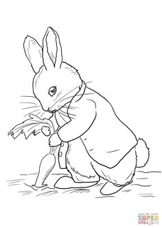 peter rabbit coloring pages coloringtopcom