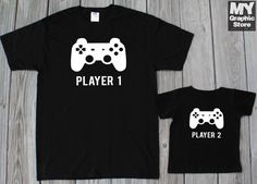Father Son Matching Shirts Dad and Son by MyGraphicStoreCo on Etsy