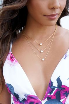 Pearl-fectionist Layered Pearl Necklace