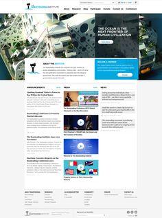 Web design for The Seasteading Institute (http://seasteading.org)