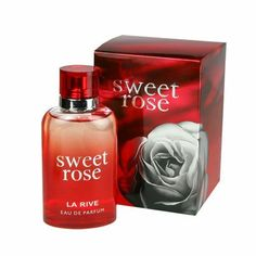 La Rive Sweet Rose For Women Perfume EDT Brand New - alert wedding La Rive Perfume, Sweater Nails, Bachelorette Shirts, Sweaters And Leggings, Coupon Binder, Women Brands, Brand Names, Perfume Bottles, Coding