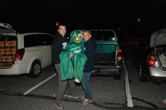 Trunk or treating with the North Penn Marching Knights.