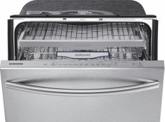 """Samsung DW80K7050US - Stormwash 24"""" Top Control Built-In Dishwasher - Stainless Steel - AlternateView1 Zoom"""