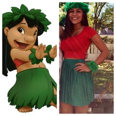 My DIY Lilo costume!