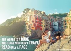 Just because it's ‪#‎WorldBookDay‬, one of our all time favourite travel quotes. Who else loves this one?