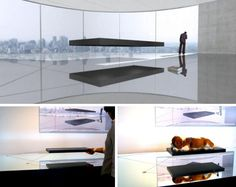Magnetic Hover Bed Costs $1.6 Million to Float in Your Bedroom. Wow.