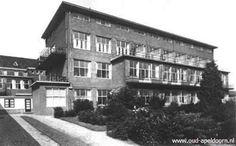 Het oude Luidina ziekenhuis in Apeldoorn is inmiddels ook afgebroken zat aan het gedeelte van de oude Arnhemseweg.