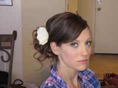 Hair and Makeup by Erica Gray in Austin, TX. She was phenomenal..