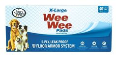 Four Paws Wee-Wee Pads, Extra Large, 40-Pack, New, Free Shipping * You can get additional details at the image link.