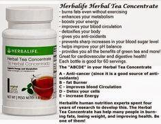Herbalife Herbal Tea Concentrate Benefits
