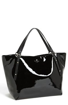 kate spade new york 'jackson square - sophie' patent leather tote | Nordstrom