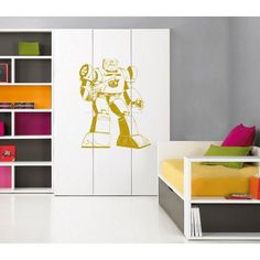 Transformers force, Superheroes decal, Superheroes stickers, Superheroes Vinyl, Kids Room Sticker Decal size 33x45 Color