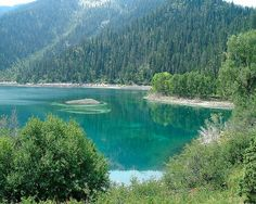 Upper Palisades Lake, ID--have a picnic date here with a certain someone coming up soon! :)