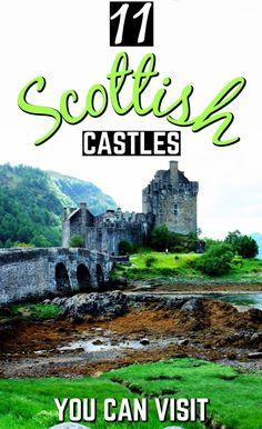12 Best Castles To Visit In Scotland That Ooze History Castles in Scotland that simply ooze history. These 11 Scottish castles will make for a great day out during your Scotland vacation! Ways To Travel, Europe Travel Tips, Best Places To Travel, Places To Visit, Travel Destinations, Scotland Vacation, Scotland Travel, Scotland Trip, Castles To Visit