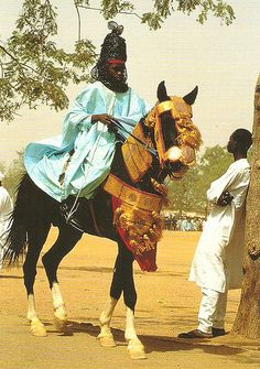 Hausa royalty of Nigeria - hausa African Culture, African History, African Art, Hausa Fulani, Afro, African Royalty, Black History Facts, Strange History, African Tribes