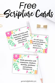 Download a set of FREE Printable Scripture cards about our worth in Christ! Looking for Scriptures about your worth in Christ? Download them today! Scripture Reading, Scripture Cards, Printable Scripture, Gospel Bible, Bible Prayers, Printable Cards, Free Printables, Prayer For My Children, Praying For Your Husband