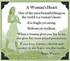 a womans heart love love quotes quotes quote love quote