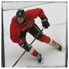 Calgary Flames training camp 2.
